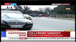 Bob Collymore\'s body  being transferred to Karioko for cremation