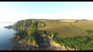 Pentewen Sands 2016 by Drone