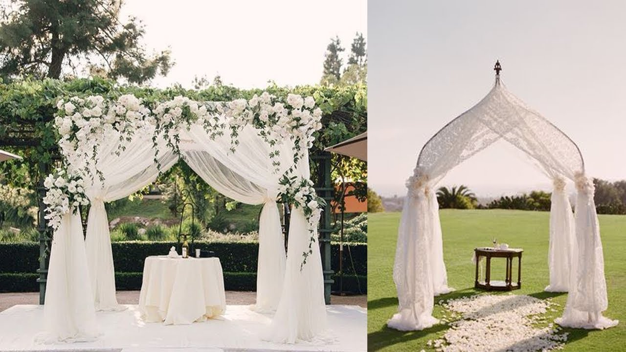 Outdoor Wedding Ceremony Design ideas Best Wedding