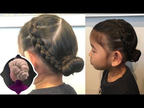 【ヘアアレンジ】プリンセスヘアーアレンジ-アナ雪-エルサ-簡単キッズヘアーアレンジ-easy-hairstyles-kids-hairstyle