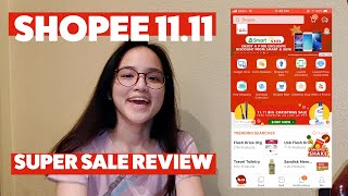 Shopee 11.11 Super Sale Review