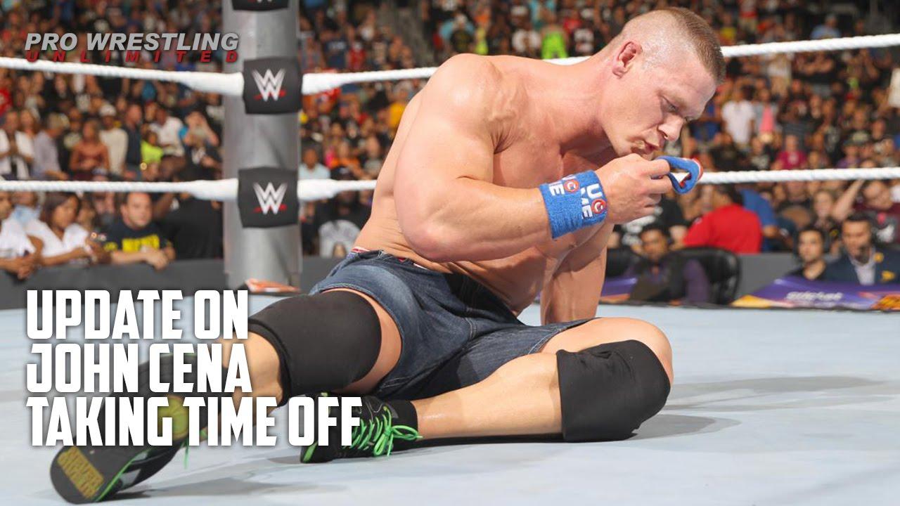 Update On John Cena Taking Time Off - YouTube