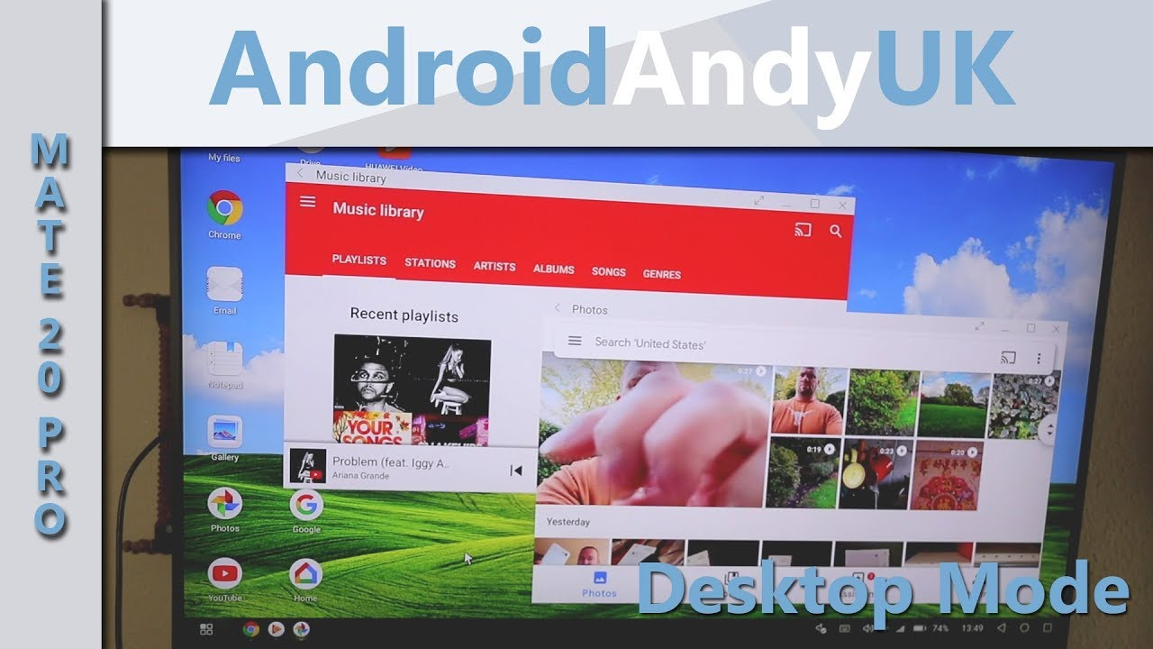 Desktop Mode on Huawei Mate 20 Pro