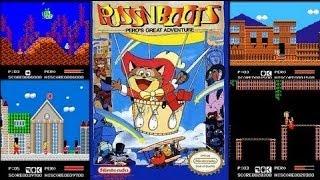 Стрим Кот в сапогах Puss 'n Boots - Pero's Great Adventure (NES) Прохождение