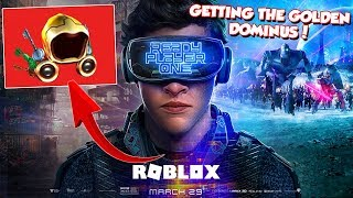 SEARCHING THE GOLDEN DOMINUS! - Ready Player One ROBLOX EVENT