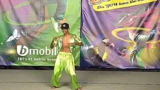 bmobile dance off contestant green dancer