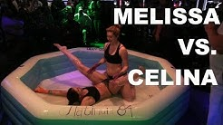 Girls Might Have A Crush On Each Other! | Celina Vs. Melissa  | Oil Wrestling | Season 2 | Night 8