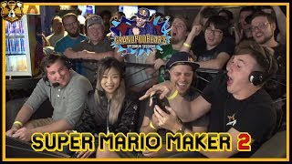 VS Mode Live! Super Mario Maker 2 Multiplayer in Charlotte and Atlanta!