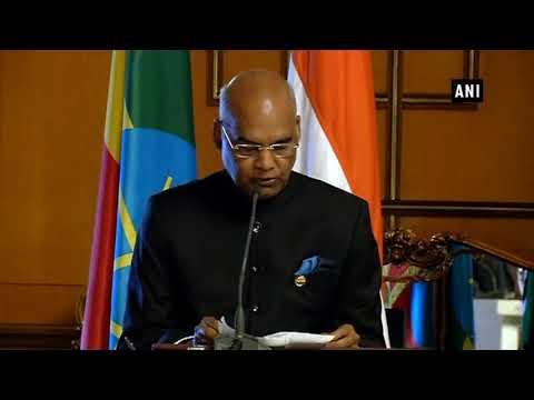India Ethiopia Sign Agreements On Trade Communication Ani News