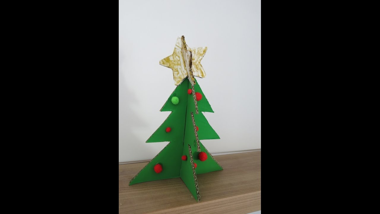 Diy Christmas Tree From Cardboard How To Make A Christmas Tree From