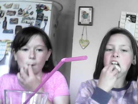 Sarah & Sophie do the bread and soda challenge