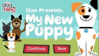 Disney Games: Dog With A Blog - Stan Presents: My New Puppy