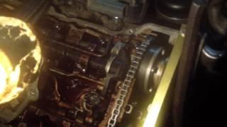 BMW n42  Обзор цепи грм