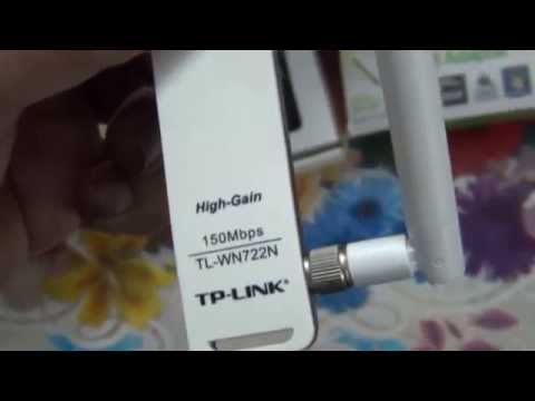 Unboxing of TP-Link 150Mbps High Gain Wireless USB Adapter (Hindi) (1080p HD)