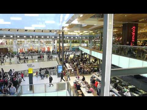 Stratford westfield city London UK