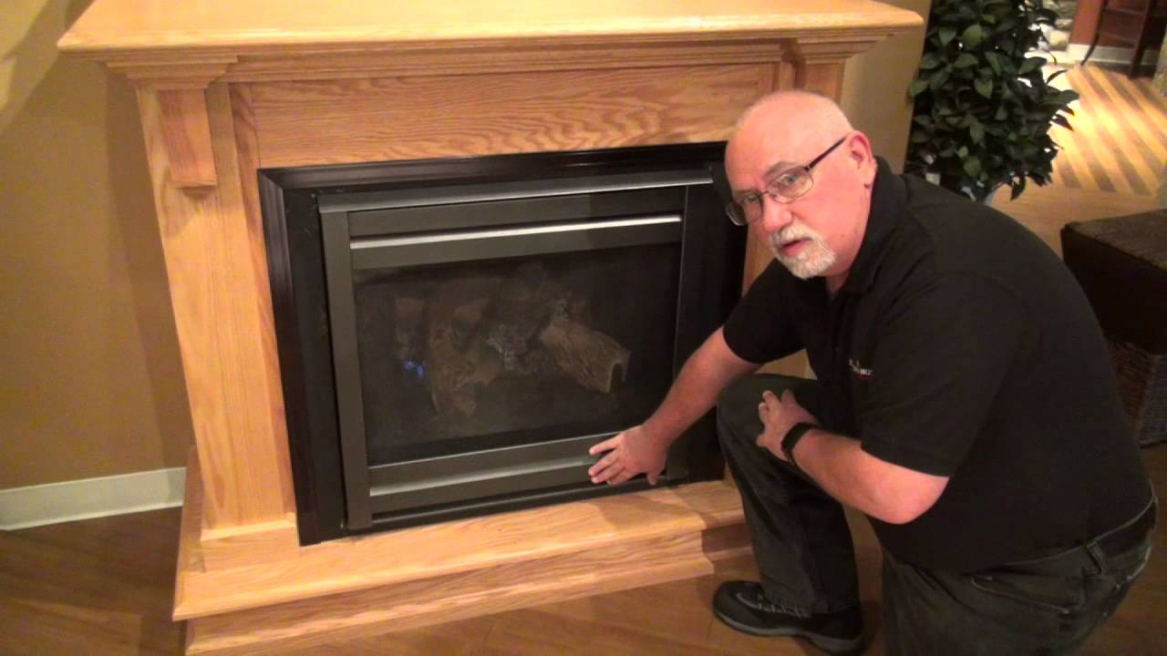Heat  Glo Gas Fireplace Operation Video  YouTube