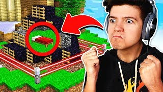 WORLDS MOST ANNOYING BASE DEFENSE! | Minecraft BEDWARS