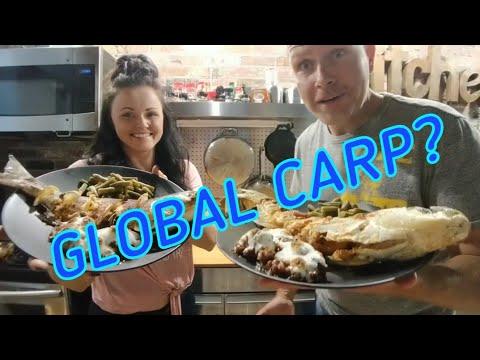 The Flying Carp Experiment (Asian Carp, Indonesian/Filipino Carp/Global Carp) How to cook Carp