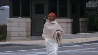 USA: Ilhan Omar arrive au Capitole pour la rentrée du Congrès
