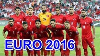 EURO 2016 A MİLLİ TAKIM KADROSU