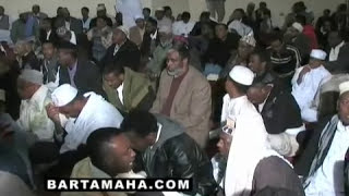 Somali Sufis Showing Their Love For Our Beloved Prophet (s.a.w) (Qaseedah ; Yaa Khairal Anaamii)