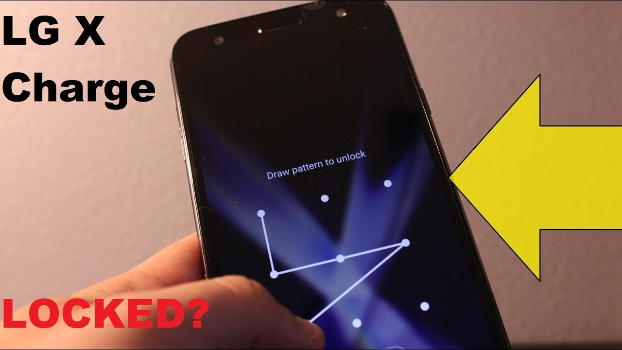 LG X Charge : How to reset forgot Screen LOCK (password, pattern)