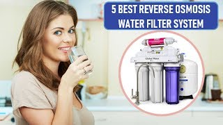 ☑️ 5 Best Reverse Osmosis Water Filter System In 2018   Dotmart