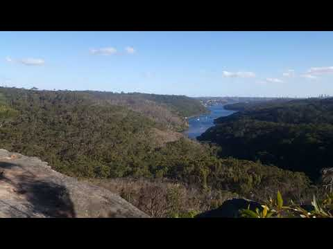 Bantry Bay Lookout - Middle Harbour Sydney - UHD 4K 2160p