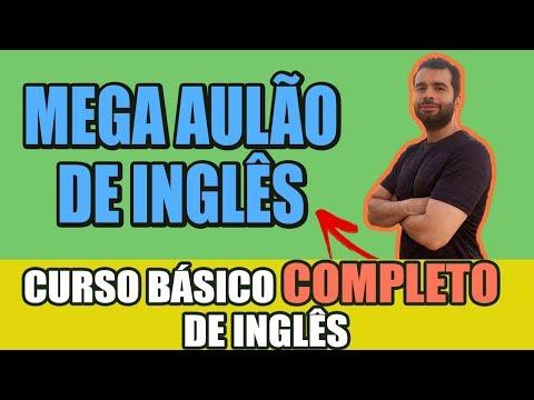 Curso de Inglês: COMPLETO e GRATUITO (do básico ao avançado)  em 4h e 50min