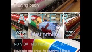 How to repair konica printhead km512 solvent printer problem fix troubleshoot online