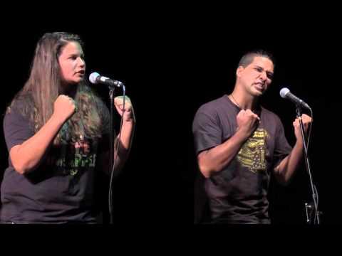 National Poetry Slam Semi-Finals 2015 - Hawaii Slam
