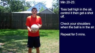 Soccer Training - 30 Minute Soccer Training Session #7 - Online Soccer Academy