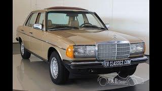 Mercedes-Benz 230E 1984 -VIDEO- www.ERclassics.com