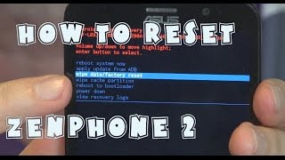 Zenfone 2- How to Erase and Factory Reset   EpicReviewsTech in 4k