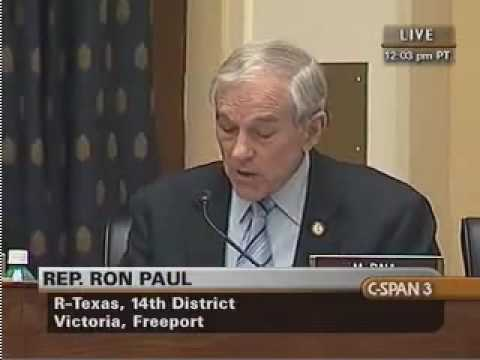 Ron Paul Asks Hillary Clinton if She Supports the Bush Doctrine