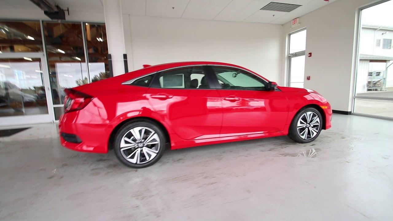2018 Honda Civic EX-L | Rallye Red | JH640160 | Seattle | Sumner | - YouTube