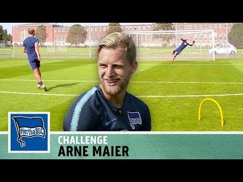Der nächste Toni Kroos? |Abschluss-Challenge vs. Arne Maier | Hertha BSC | Kickbox