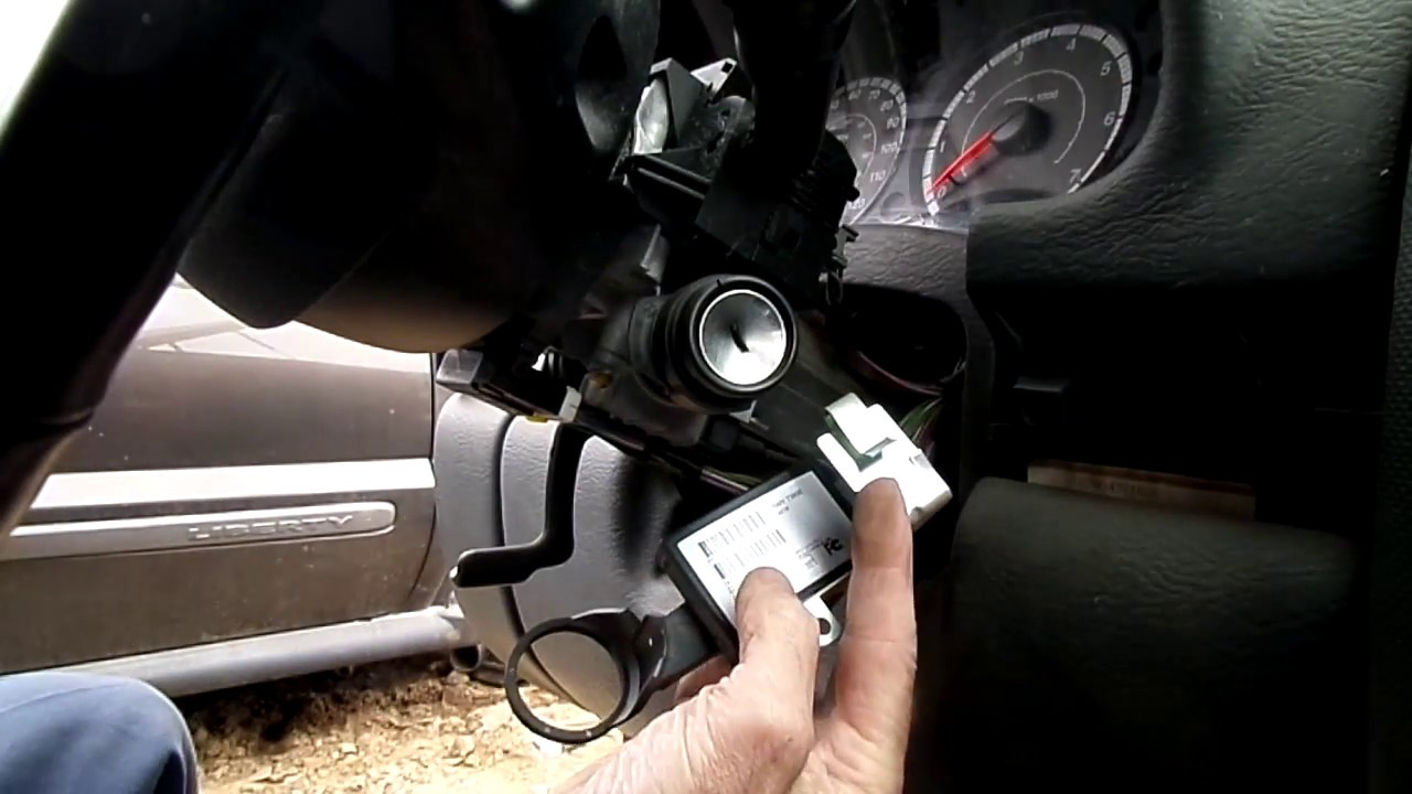 jeep liberty wireless control module wcm removal [ 1280 x 720 Pixel ]