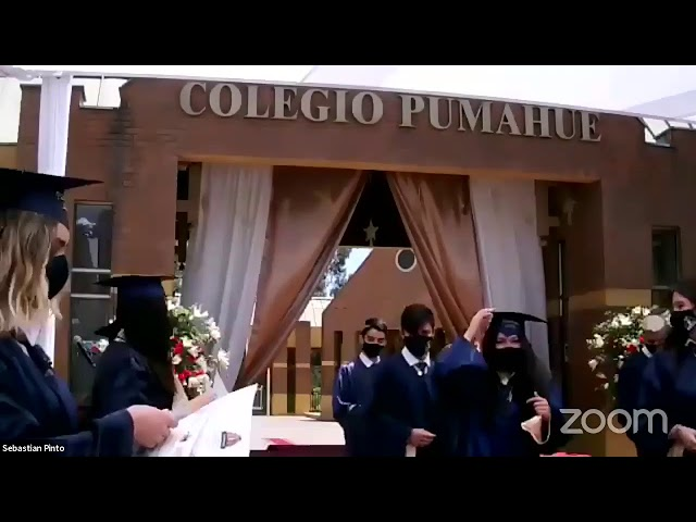 Graduación IV° medios Colegio Pumahue Peñalolén (Grupo 4, 23/12)