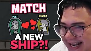 A NEW SHIP IN TOWN?! OFFLINETV PLAYING MONSTER DATING! | JACKBOX PARTY