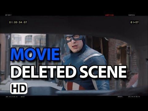 "The Avengers (2012) Deleted Scenes ""Captain America Saves Family"""