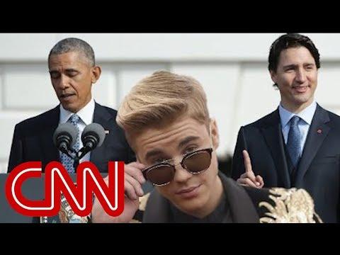 Obama, Trudeau Trade Bieber Jokes