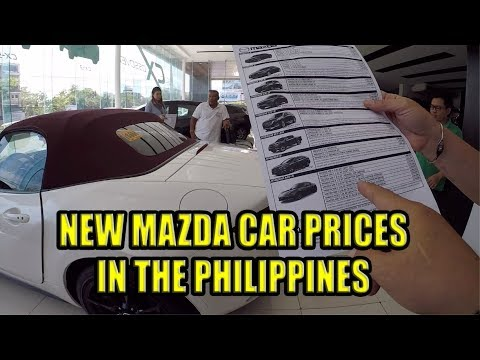 New Mazda Car Prices In The Philippines (April 2019)