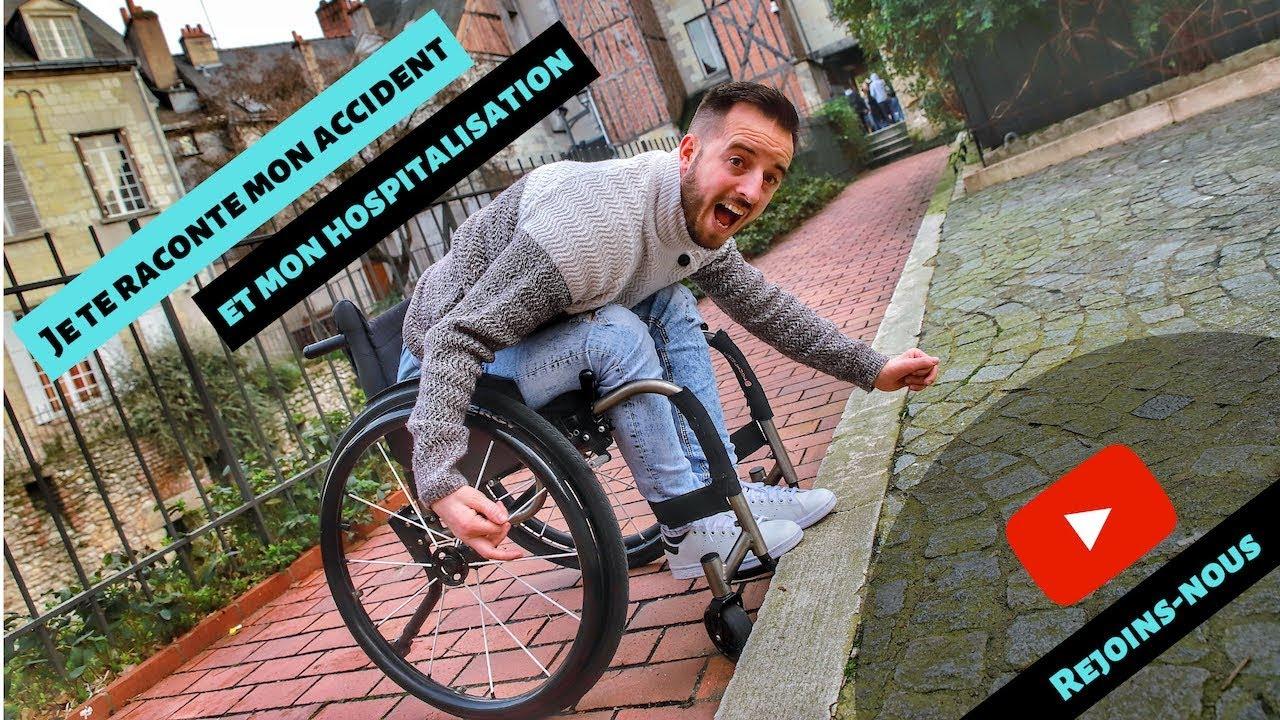 Découvre mon Histoire, mon accident et ma tétraplégie - YouTube