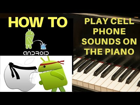 How To Play Cell Phone Sounds on the Piano