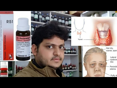 thyroid homeopathic medicine for hypothyrodism thyroid problem in women? explain!