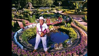 Large Garden Model Railroad RR LGB G Scale Gauge Layout of awesome trains Meet The Train Lady