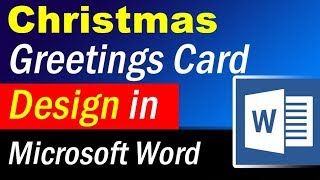 Ms Word Christmas Card Template from i.ytimg.com