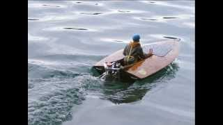 "Hal Kelly's --- ""ok"" --- Flying Frog Vo-77 Das Erste Mal Im Wasser"