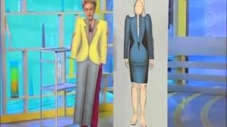 Диеты из одежды. Советы для обладательниц фигуры «Женщина-колонна»